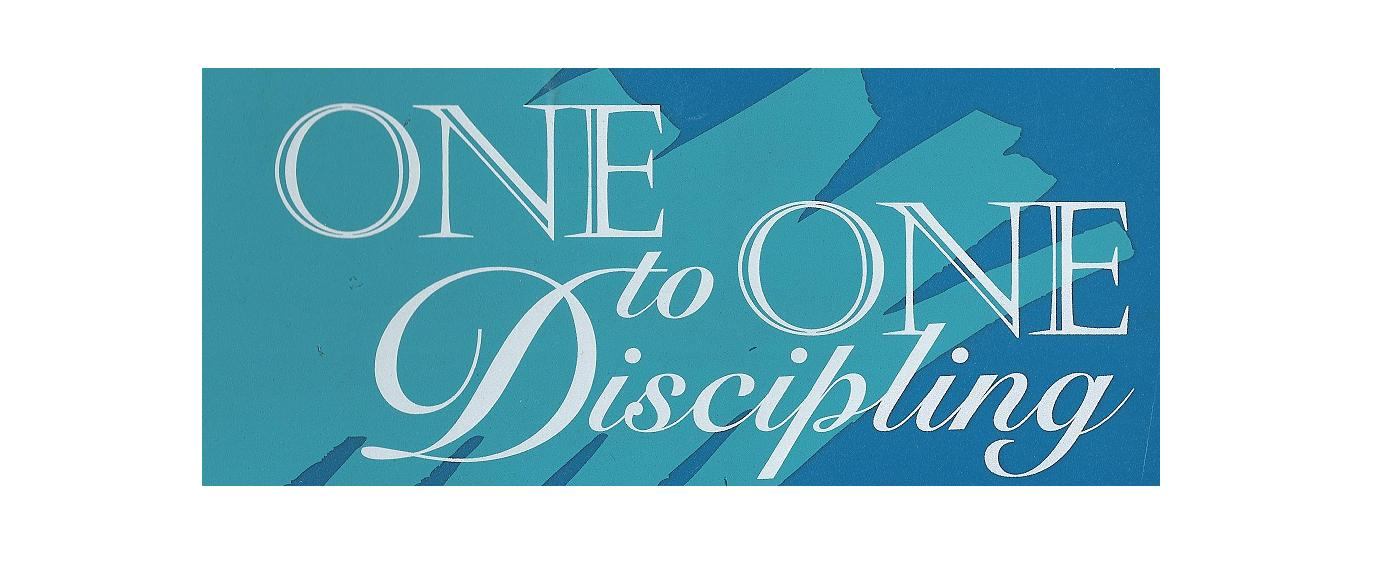 One To One Discipling